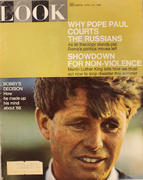 LOOK Magazine April 16, 1968 Magazine