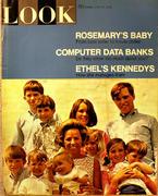 LOOK Magazine June 25, 1968 Magazine