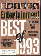 Entertainment Weekly December 31, 1993 Magazine