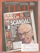 Time Magazine July 25, 2011 Magazine