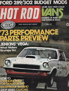 Hot Rod Magazine December 1972 Magazine