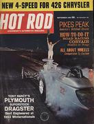 Hot Rod Magazine September 1963 Magazine