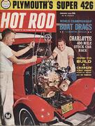 Hot Rod Magazine January 1963 Magazine