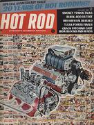 Hot Rod Magazine January 1968 Magazine