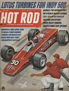 Hot Rod Magazine May 1968 Magazine