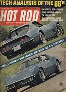 Hot Rod Magazine October 1967 Magazine
