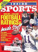 Inside Sports Magazine August 1990 Magazine