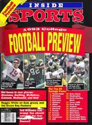 Inside Sports Magazine August 1993 Magazine