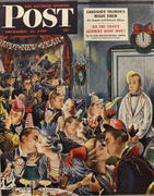 The Saturday Evening Post December 31, 1949 Magazine