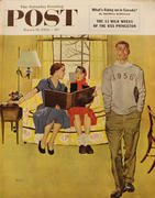 The Saturday Evening Post March 14, 1953 Magazine