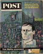 The Saturday Evening Post August 10, 1963 Magazine