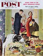 The Saturday Evening Post January 5, 1957 Magazine