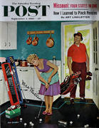 The Saturday Evening Post September 3, 1960 Magazine