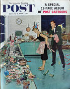 The Saturday Evening Post January 2, 1960 Magazine