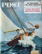 The Saturday Evening Post August 22, 1959 Magazine