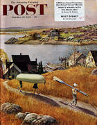 The Saturday Evening Post October 31, 1953 Magazine