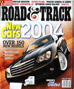 Road & Track Magazine October 2003 Magazine