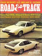 Road & Track Magazine September 1972 Magazine
