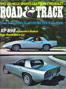 Road & Track Magazine January 1973 Magazine
