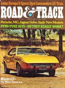 Road & Track Magazine November 1973 Magazine