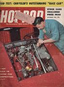 Hot Rod Magazine September 1956 Magazine