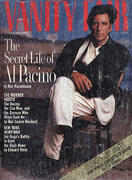 Vanity Fair Magazine October 1989 Magazine