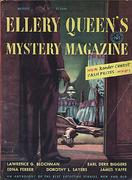 Ellery Queen's Mystery Magazine August 1953 Magazine
