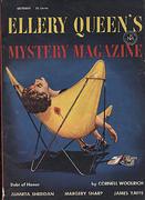 Ellery Queen's Mystery Magazine October 1954 Magazine
