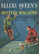 Ellery Queen's Mystery Magazine January 1955 Magazine