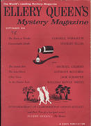 Ellery Queen's Mystery Magazine September 1958 Magazine