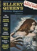 Ellery Queen's Mystery Magazine November 1960 Magazine