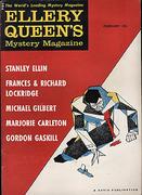 Ellery Queen's Mystery Magazine February 1960 Magazine