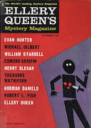 Ellery Queen's Mystery Magazine September 1960 Magazine