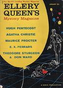 Ellery Queen's Mystery Magazine January 1960 Magazine