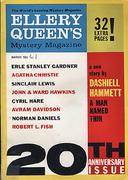 Ellery Queen's Mystery Magazine March 1961 Magazine