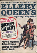 Ellery Queen's Mystery Magazine January 1966 Magazine