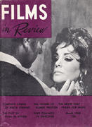 Films In Review Magazine March 1968 Magazine