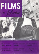 Films In Review Magazine May 1972 Magazine