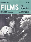 Films In Review Magazine November 1976 Magazine