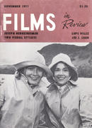 Films In Review Magazine November 1977 Magazine