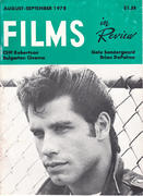 Films In Review Magazine August 1978 Magazine