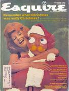 Esquire December 1, 1972 Magazine