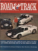 Road & Track Magazine May 1965 Vintage Magazine