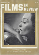 Films In Review Magazine February 1981 Magazine