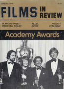Films In Review Magazine June 1981 Magazine