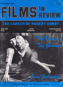 Films In Review Magazine December 1981 Magazine