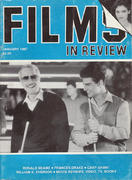 Films In Review Magazine January 1987 Magazine