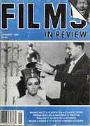 Films In Review Magazine January 1988 Magazine