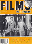 Films In Review Magazine December 1991 Magazine
