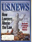 U.S. News & World Report January 30, 1995 Magazine